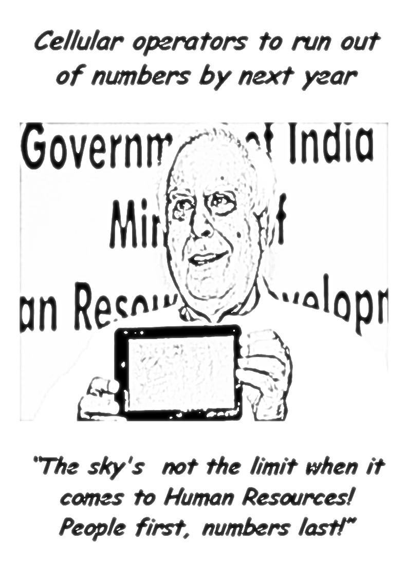 Kapil Sibal with the 'Akash'
