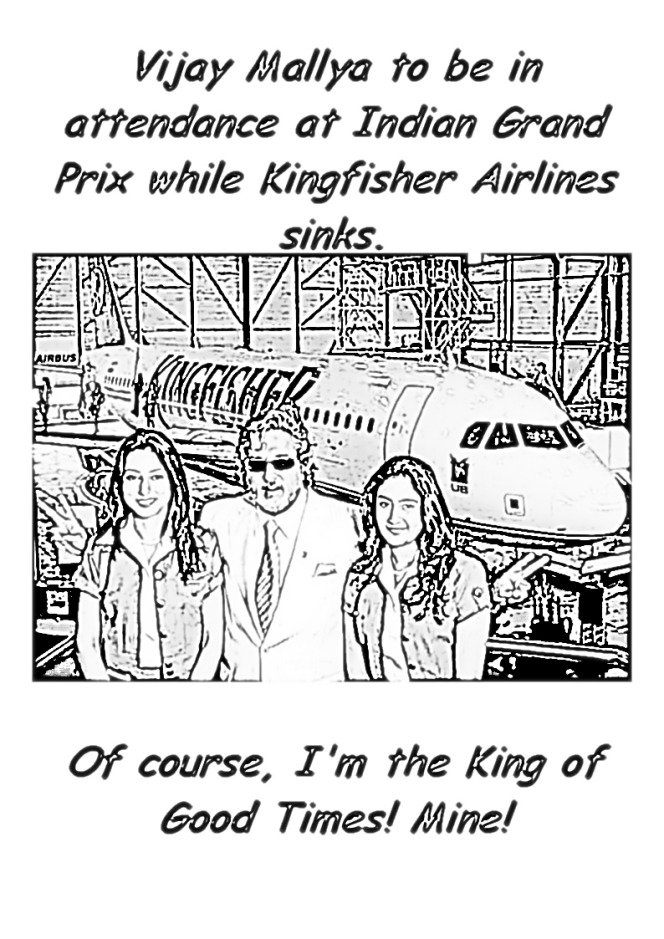 Vijay Mallya's formula for Kingfisher Airlines' woes: Force India for F1