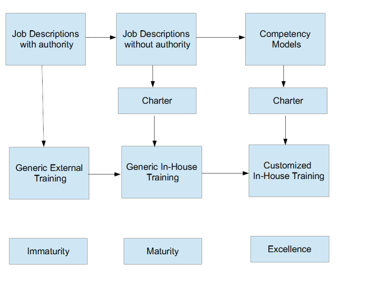 Competency models and training